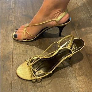 Burberry Golden shoes